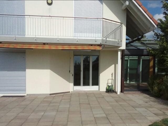 Terrassen Plattenverlegung